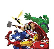 avengers attack by punturex