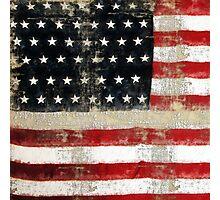 Ginkelmier Inspired ~  USA FLAG Photographic Print
