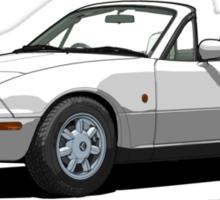Eunos Roadster MK1 Crystal White Sticker