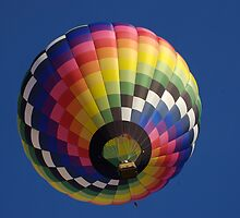 Colorful Hot air balloon by Luann wilslef