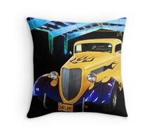 1934 Flame Throw Pillow