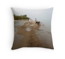 At the tip Throw Pillow