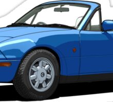 Eunos Roadster MK1 Mariner Blue Sticker