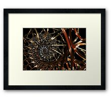 Structured Reality Framed Print
