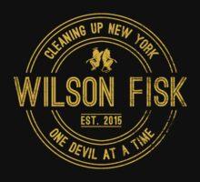 Wilson Fisk & Daredevil by prunstedler