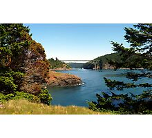 Deception Pass Bridge Seven Photographic Print