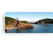 Deception Pass Bridge Four Canvas Print