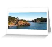 Deception Pass Bridge Four Greeting Card