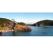 Deception Pass Bridge Four Photographic Print