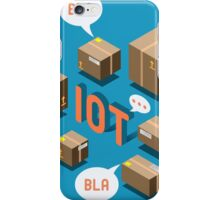 Isometric Internet of Things Concept iPhone Case/Skin