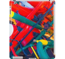 metal veins inside human body. electricity museum iPad Case/Skin