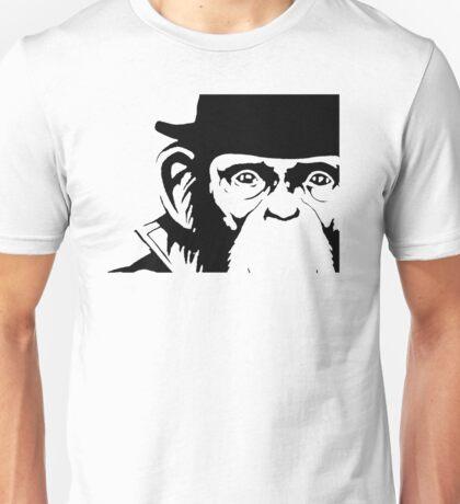 Lancelot Link Chimp Face Unisex T-Shirt