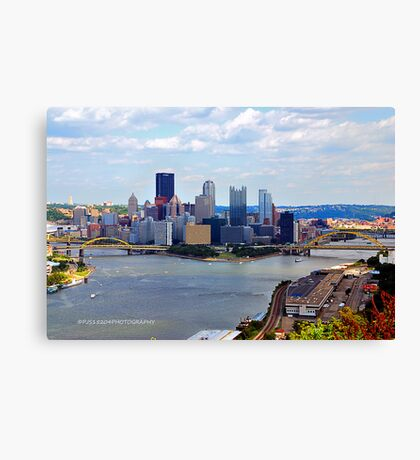 The City of Champions Canvas Print