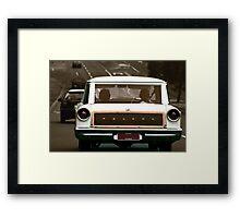 Sunday Driver Framed Print