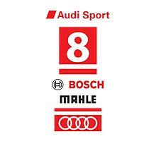 Audi R18 e-tron #8 LeMans Tribute by Neyomo