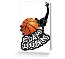 slam dunk Greeting Card
