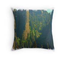 Magestic Rock Formations Throw Pillow