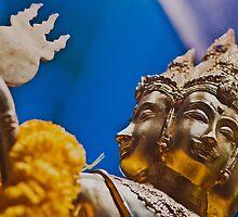 Bodhisattva Statue from Bangkok by Anna Alferova