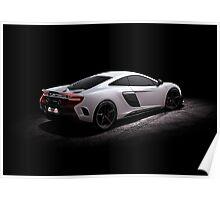 McLaren 675 LT Rear 3/4 Poster
