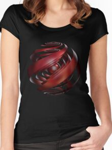 'As the Bubble Turns 2' Women's Fitted Scoop T-Shirt