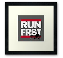 Run forrest, RUN! Framed Print