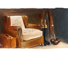 The Chair in Beadles' Window by RosaFedele