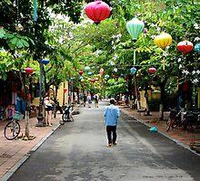 Streets full of history - Hoi An, Vietnam. by Tiffany Lenoir