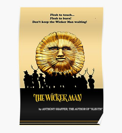 """The Wicker Man """"Vintage Style""""  Poster"""