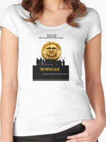 """The Wicker Man """"Vintage Style""""  Women's Fitted Scoop T-Shirt"""