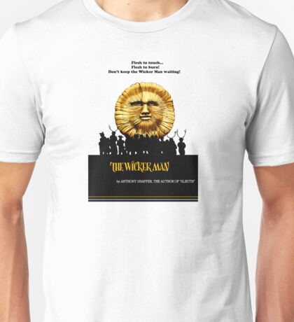 "The Wicker Man ""Vintage Style""  Unisex T-Shirt"