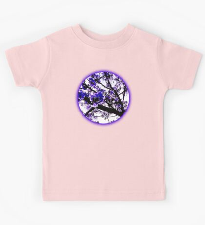 Blue blossoms Kids Tee