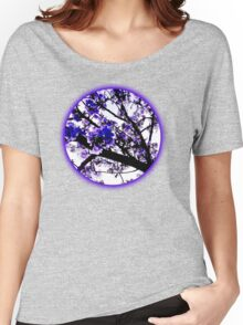 Blue blossoms Women's Relaxed Fit T-Shirt