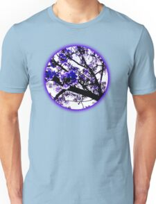 Blue blossoms Unisex T-Shirt