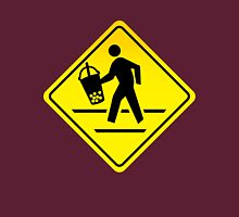 Caution: Bubble Tea Crossing! Unisex T-Shirt