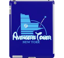 Avengers Tower (or Castle) from Age of Ultron (BLUE) iPad Case/Skin