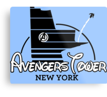 Avengers Tower (or Castle) from Age of Ultron Metal Print