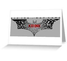 Bat Gang Greeting Card