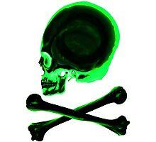 Pirate skull & crossbones Photographic Print