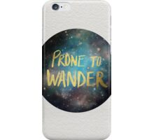 Wander iPhone Case/Skin
