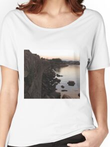 Plymouth Sunset Women's Relaxed Fit T-Shirt