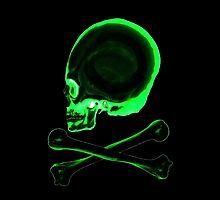 Pirate skull & crossbones in black by Gee1982