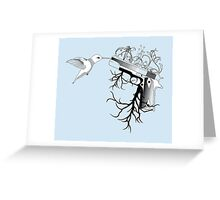 When Mother Nature Takes Over.... Greeting Card