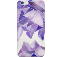 Watercolor Amethyst iPhone Case/Skin
