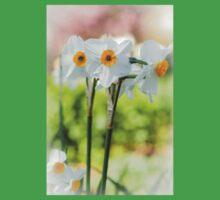 Happy Daffodils  One Piece - Short Sleeve
