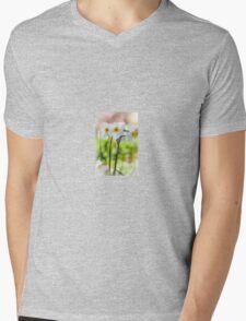 Happy Daffodils  Mens V-Neck T-Shirt