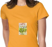 Happy Daffodils  Womens Fitted T-Shirt