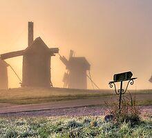 Through the fog centuries by Valerii Baryspolets