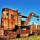 Old Crane - Alderney by NeilAlderney