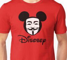 Disobey - Anonymous - Disney - Subversive Symbolism Unisex T-Shirt