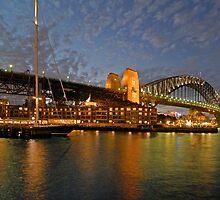 Sydney Harbour Bridge @ Dusk by DavidIori